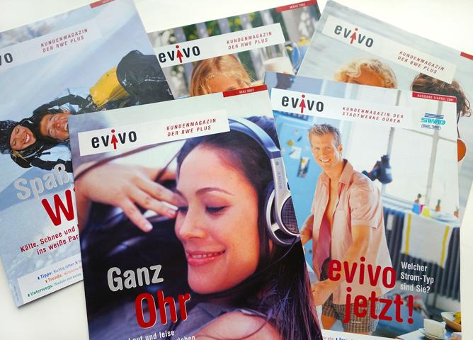 RWE AG, Evivo Magazin, Titel