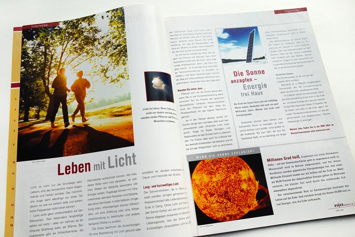 RWE AG, Evivo Magazin