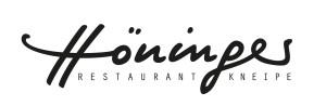 Höninger Restaurant Kneipe, Logogestaltung/Handschrift, Corporate Design