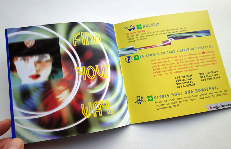 Sparkasse Düren, Brochure Design Mailcorner