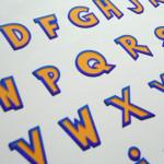 Fontdesign Illustrator, Schriftentwurf und Reinzeichnung für Nintendo of Europe/Art & Print