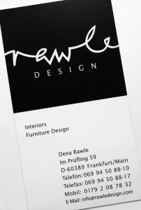 Rawle Design, Logo/Geschäftskarte