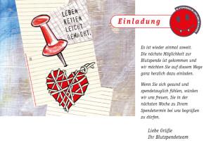 Uniklinik Aachen/Blutspendezentrum Illustration und Gestaltung von Postkarten