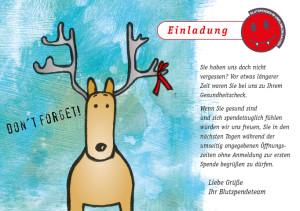 Uniklinik Aachen/Blutspendezentrum Erinnerungskarten